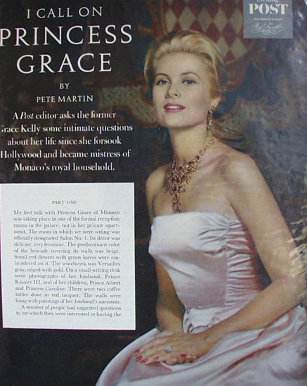 Princess Grace 1960 Article