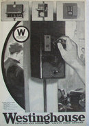 Westinghouse Electrical Industrial Heating 1920 Ad