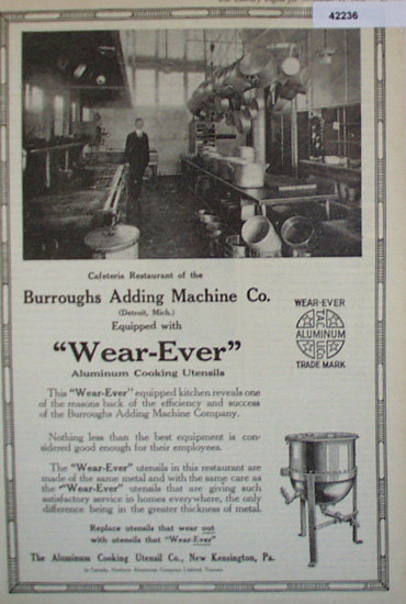 Wear Ever Aluminum Cooking Utensils 1920 Ad