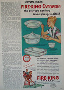 Fire King Ovenware 1952 Ad