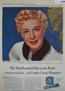 Lustre Crème Shampoo 1952 Ad