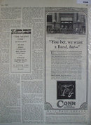 Conn Band Instruments 1928 Ad