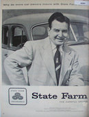 State Farm Insurance 1956 Ad Clarence Penny of PA