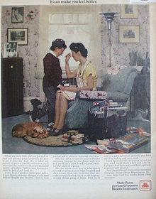 State Farm Health Insurance 1971 Ad