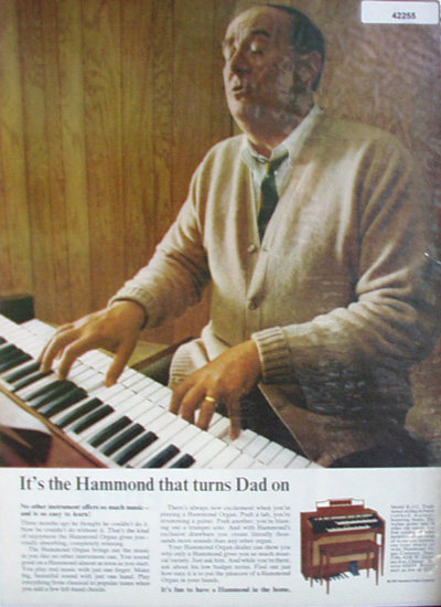 Hammond Organ Co. 1966 Ad