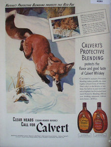 Calvert Blended Whiskey 1941 Ad