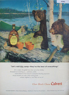 Calvert Blended Whiskey 1948 Ad