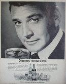 Dubonnet Wine 1964 Ad