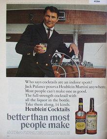 Heublein Extra Dry Martini 1966 Ad