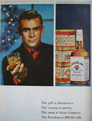 Jim Beam Bourbon Whiskey 1966 Ad.
