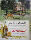 Old Fitzgerald Bourbon Whiskey 1954 A