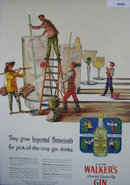 Hiram Walkers Dry Gin 1947 Ad