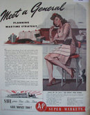 A and P Super Markets 1942 Ad