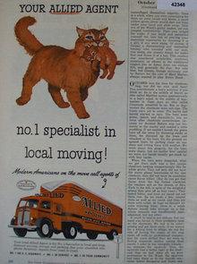 Allied Van Lines 1952 Ad