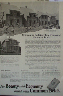 Common Brick 1920 Ad