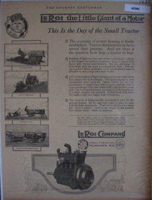 Le Roi The Little Giant Of A Motor 1920 Ad
