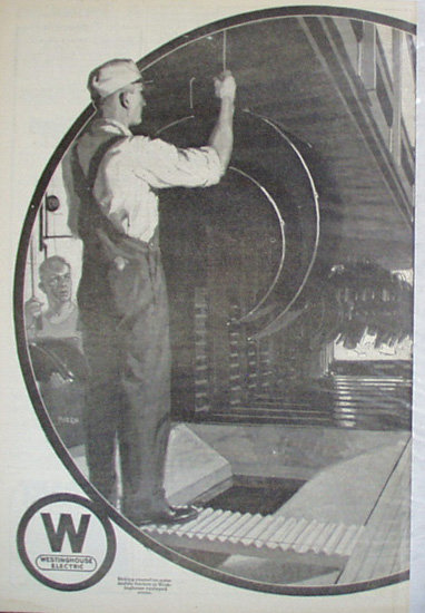 Westinghouse Electric 1920 Ad