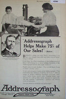 Addressograph Co. 1920 Ad.