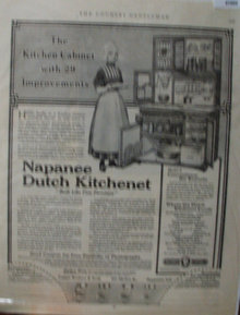Nappanee dutch kitchenette advertisemnt