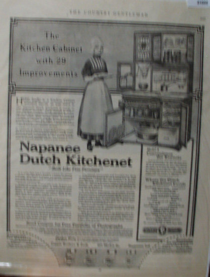 Nappanee dutch kitchenette advertisemnt