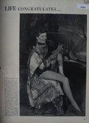Life Congratulates Katharine Hepburn 1950 Article