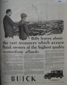 Buick Motor Company 1929 Ad