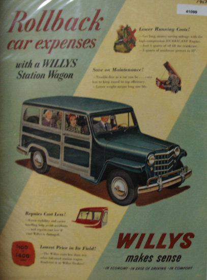 Willys Station Wagon 1951 Ad