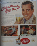Blatz Brewing Co. 1951 Ad