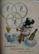 Ballantines Ale 1947 Ad