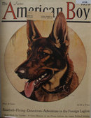 The American Boy Front Cover 1929