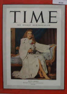 Time Magazine Front Cover 1948