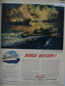 Elco PT Electric Boat Co. 1944 Ad