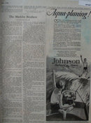 Johnson Outboard Motors 1928 Ad