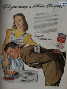 Campbell Vegetable Soup 1944 Ad