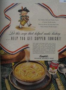 Campbells Chicken Noodle Soup 1949 Ad