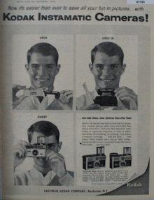 Kodak Cameras 1964 Ad