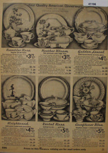Sears Dinnerwear 1935 Ad