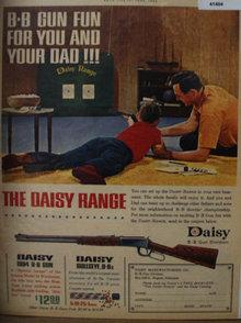 Daisy B. B. Gun Division 1962 Ad
