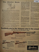Mossberg Model 34OB Rifle 1962 Ad