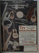 Wurlitzer Instruments 1927 Ad