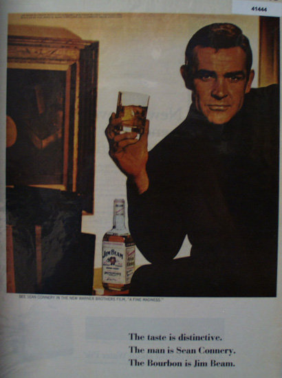 Jim Beam Bourbon Whisky 1966 Ad