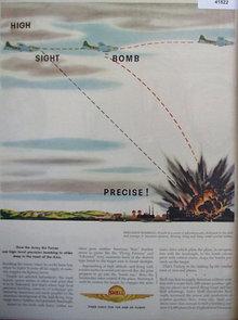 Shell Super Fuel 1944 Ad