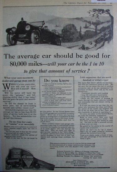 Edward A. Cassidy Co. Nitrex 1920 Ad