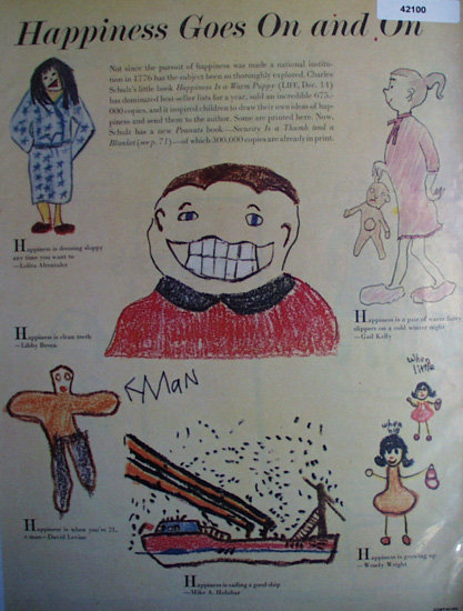 Happiness Goes On And On 1963 Article