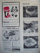 Calumet Baking Powder 1954 Ad