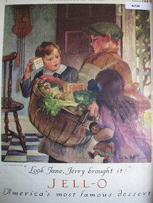 Jell O 1924 Ad