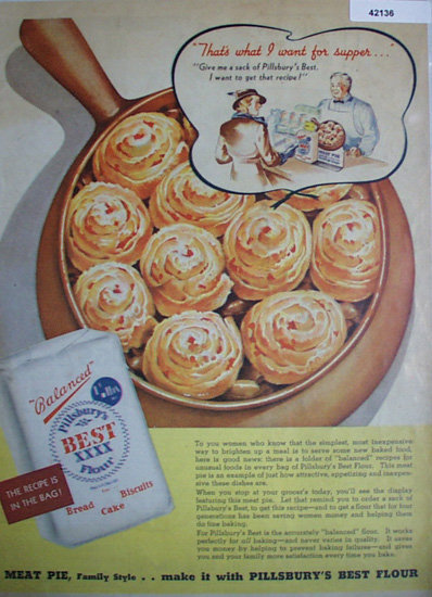Pillsbury Best XXXX Flour 1936 Ad