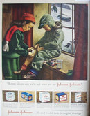 Johnson And Johnson Surgical Dressings. 1949 Ad