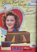 Lane Cedar Hope Chest 1945 Ad.
