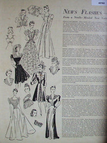 News Flash Clothes Making 1940 Article